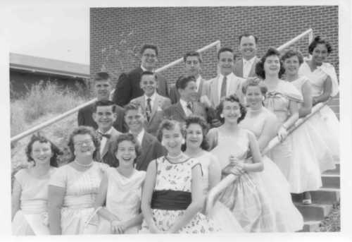 Antioch Junior Hight Graduation 1958